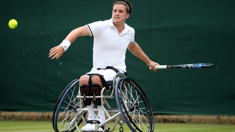 trending news paralympian gordon reid rio 2016 twitter video tennis