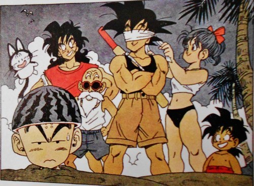 gohan Dragon Ball Z goku krillin - 8975665152