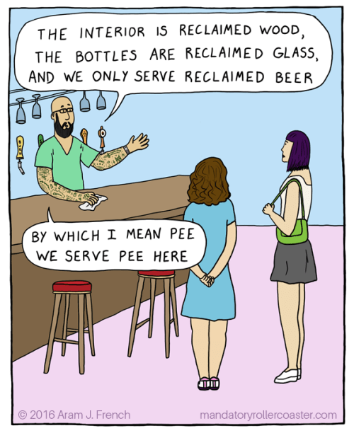 beer web comics pee It's Very Environmentally Friendly