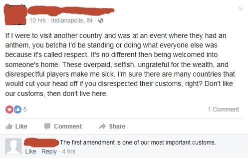 failbook facebook national anthem burn - 8976006400