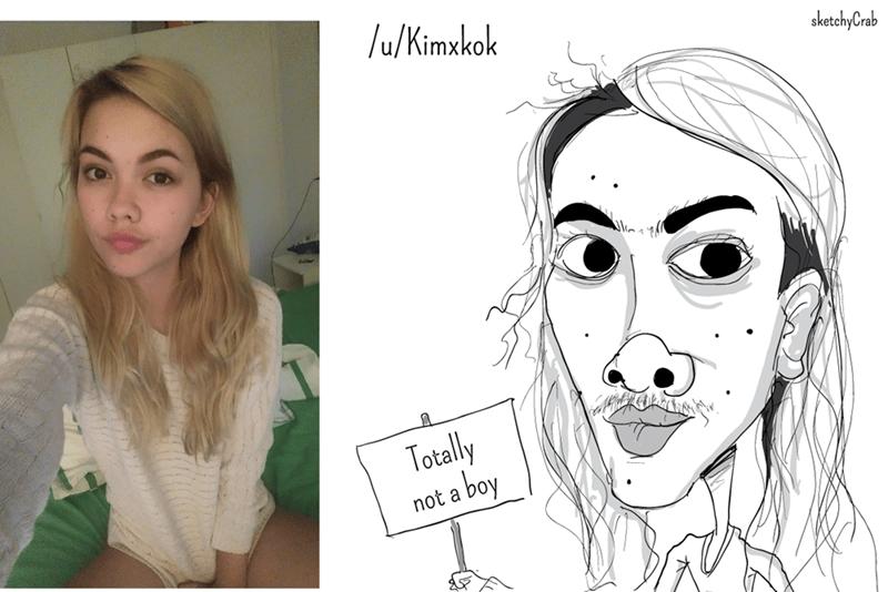 Face - /u/Kimxkok sketchyCrab UT Totally a boy