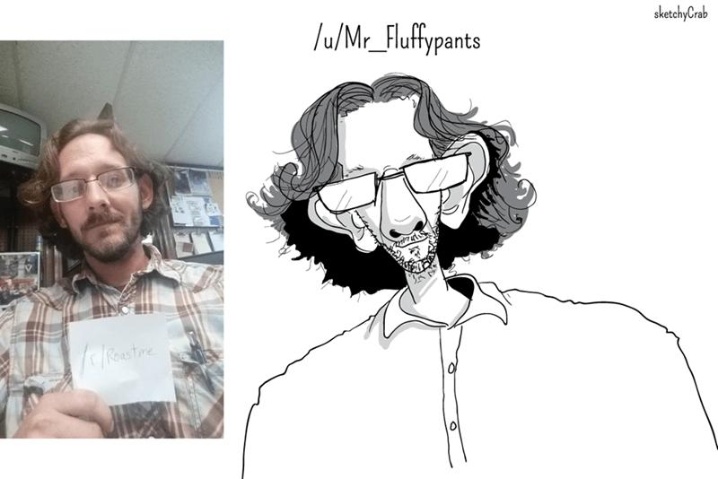 Face - sketchyCrab /u/Mr_Flufypants leastine