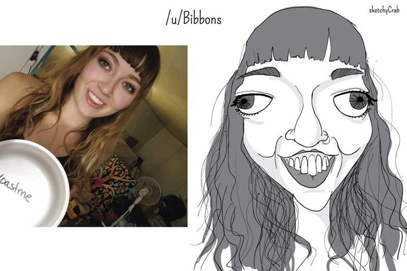 Face - sketchyCrab /u/Bibbons pastme