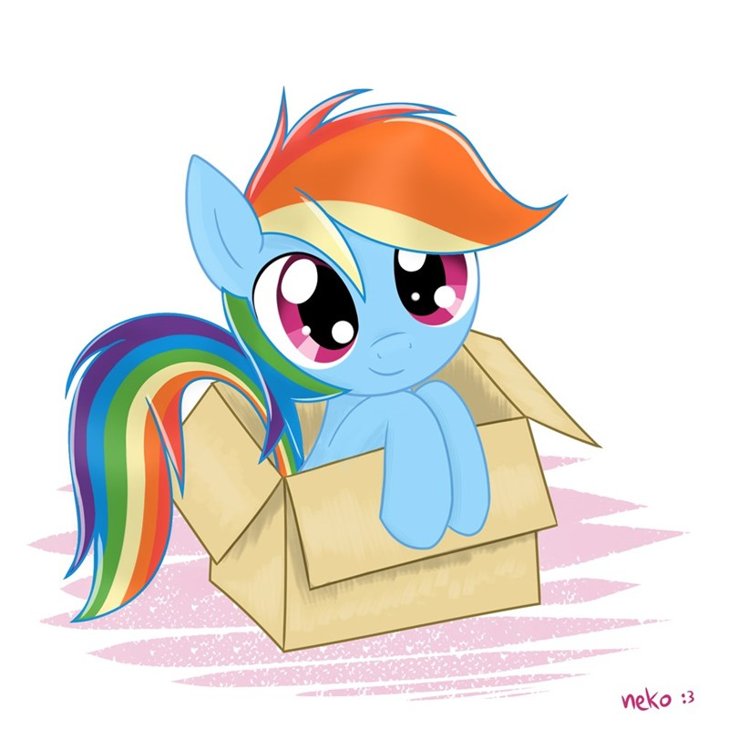 my little dashie rainbow dash - 8976302336