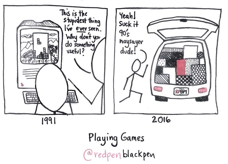 web comics useful video games See, Video Games Aren't a Waste of Time!