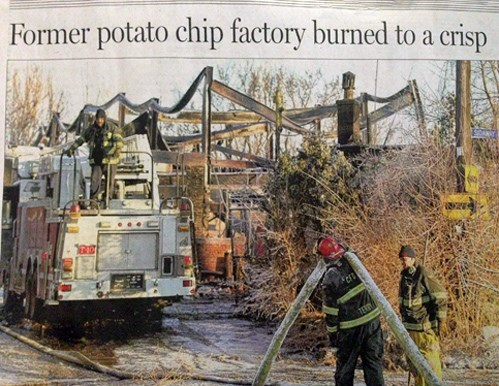 funny fail image punny disaster headline