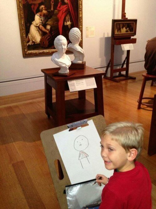 kids parenting Nailed It art talent - 8976471040