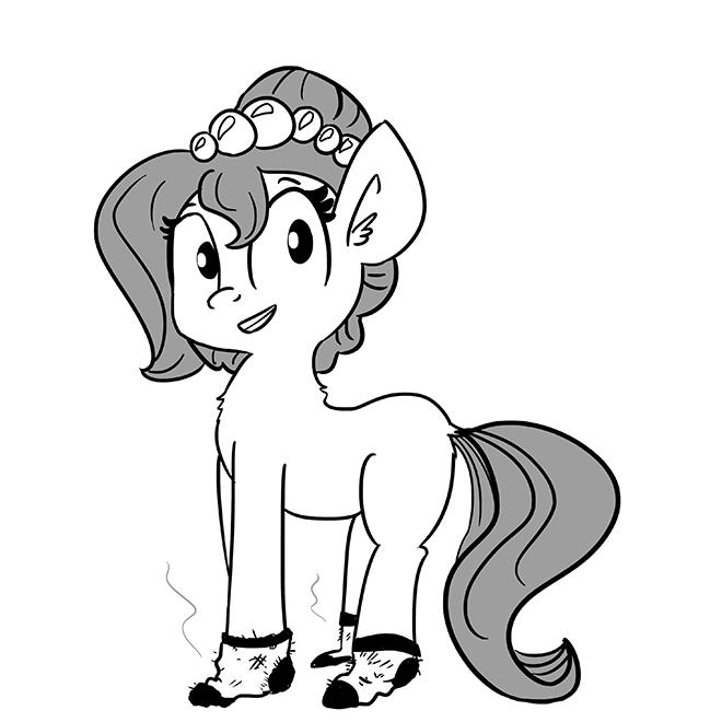 Fetish OC socks horse wife - 8976695552