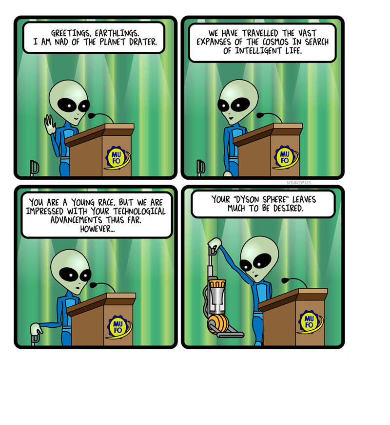 web comics reviews aliens You Can Travel Through Space but You Don't Know How to Leave a Review on Amazon?