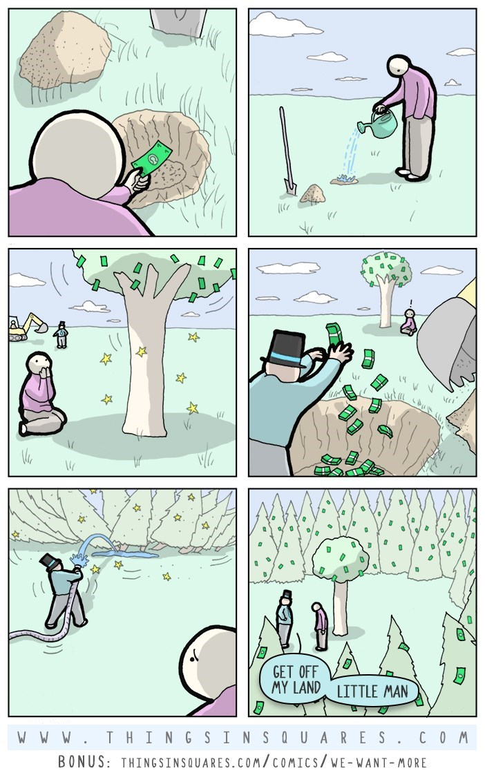 web comics money tree If Money Grew On Trees It Wouldn't Really Make a Difference