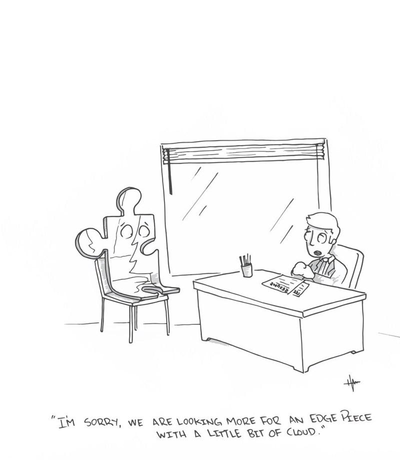 web comics puzzle puns It's Just Not a Good Fit
