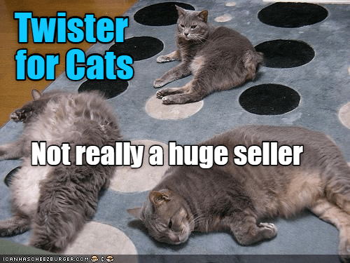cat seller twister not caption huge - 8976933888
