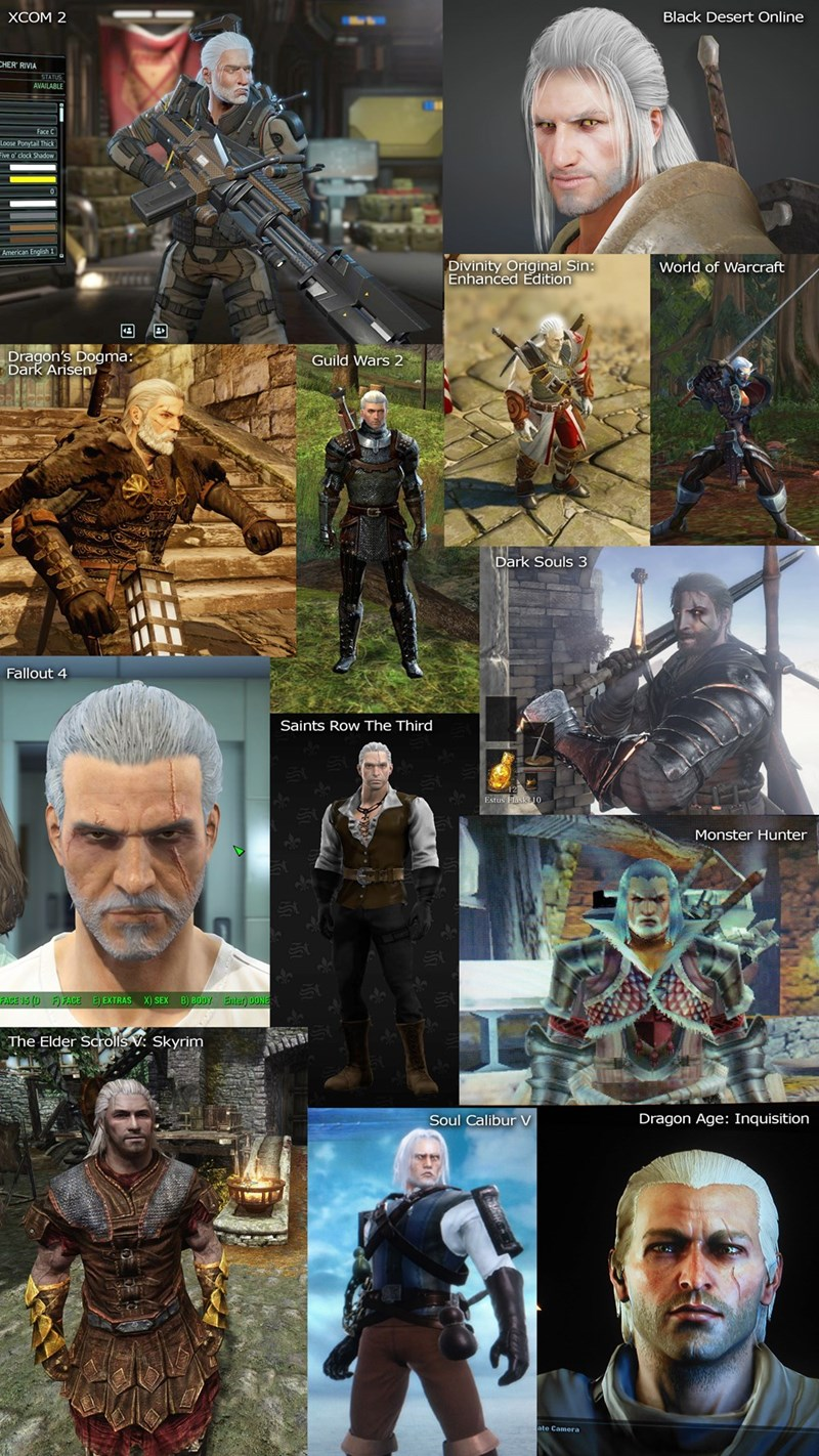 geralt-from-the-witcher-recreated-in-other-games