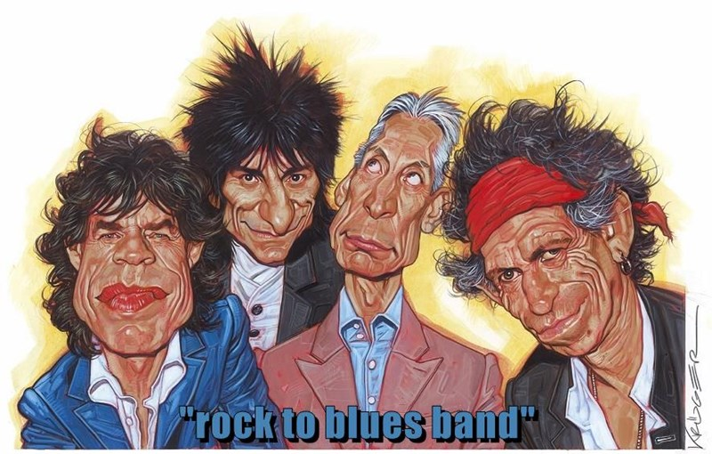 """rock to blues band"""
