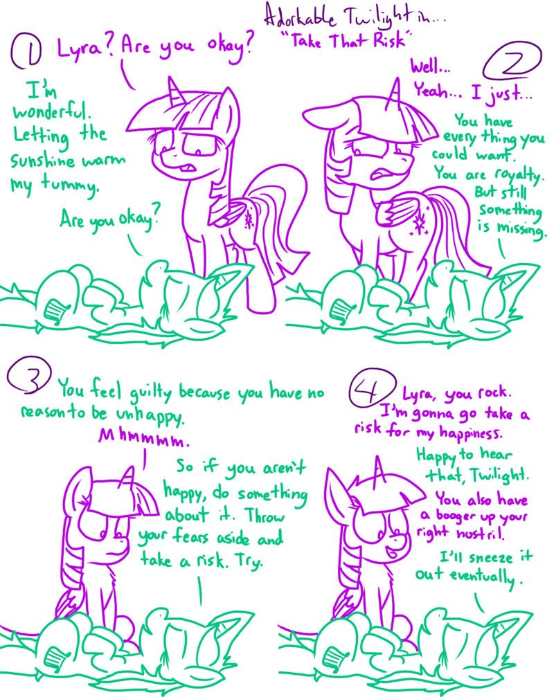 twilight sparkle lyra heartstrings comic - 8977313792