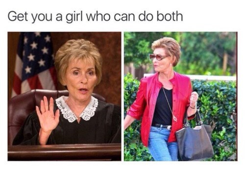 image dating judge judy Downside: She Wins Every Argument
