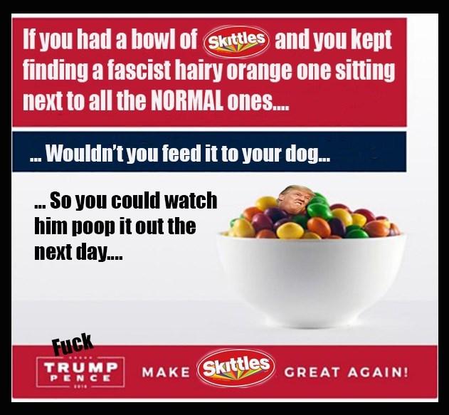 donald trump skittles politics - 8977580288