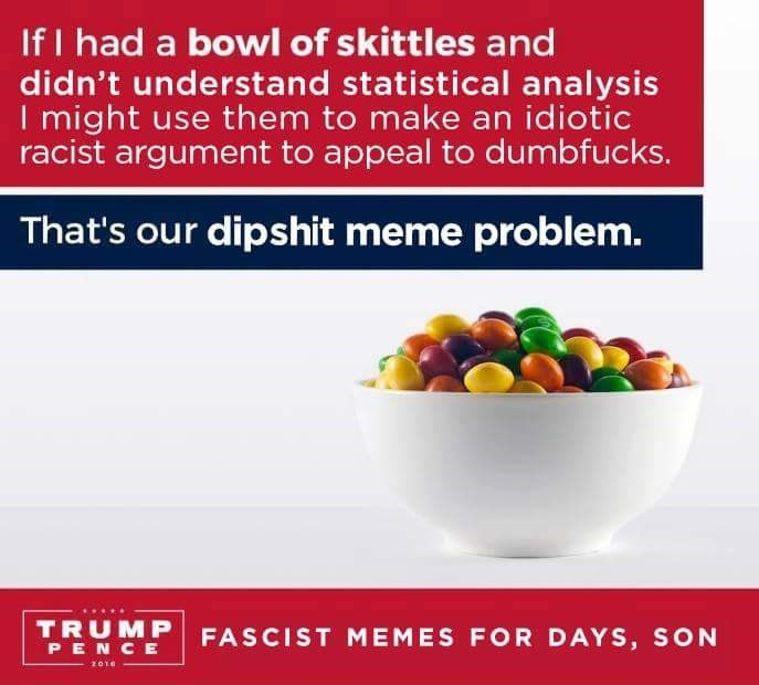 memes skittles donald trump What Would Harambe Think of Your Skittles Meme?