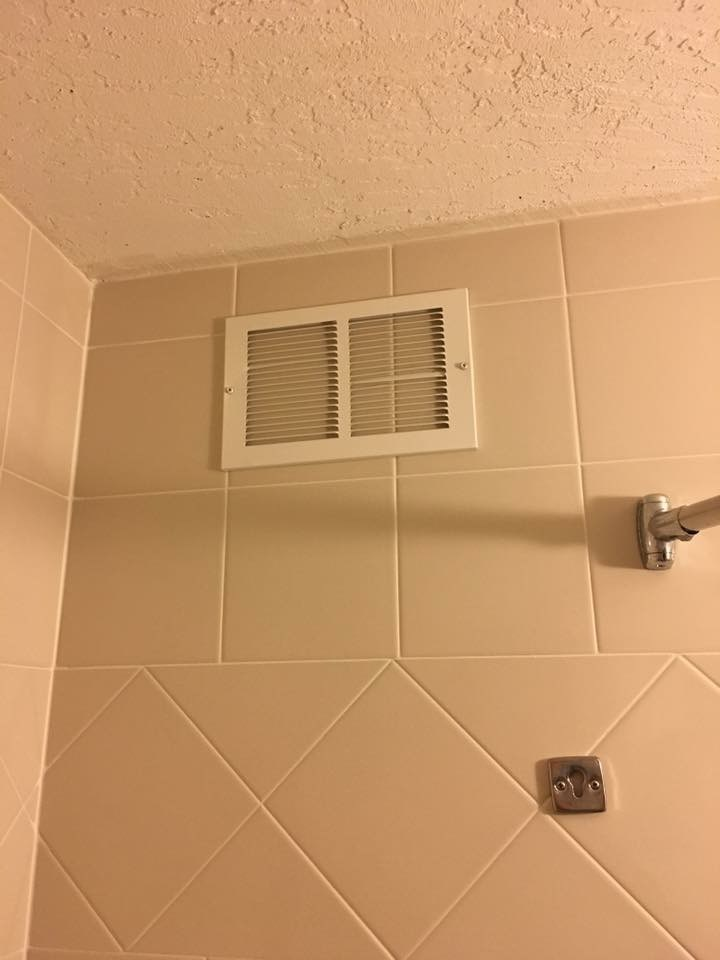 funny fail image vent in shower fail