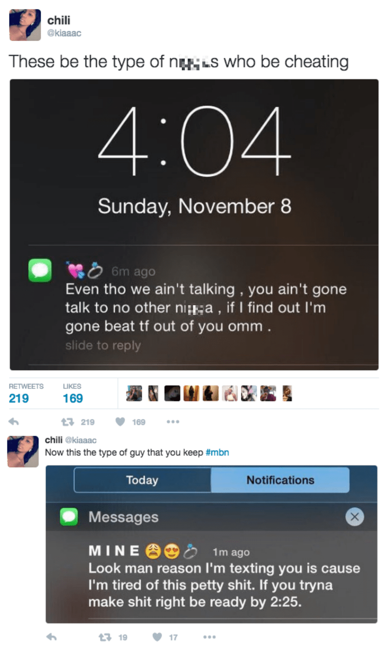 funny dating tweet the difference between texts