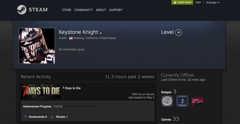 Steam Username