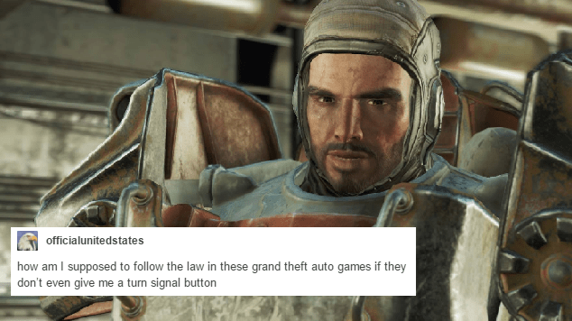 tumblr,bethesda,fallout,fallout 4,video games,funny