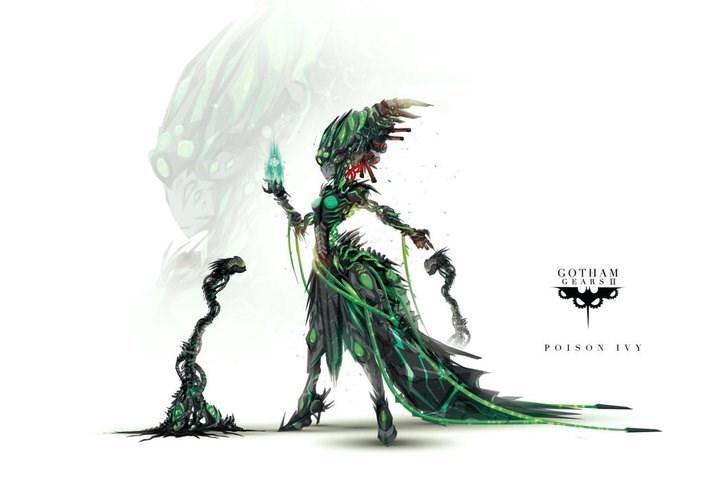 Costume design - GOTHAM GEARS II POISON IVY