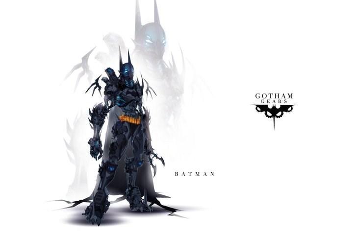 Fictional character - GOTHAM GEARS ВАTMAN