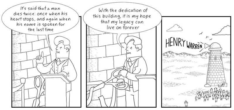 web comics immortality legacy That's One Way to Leave a Legacy