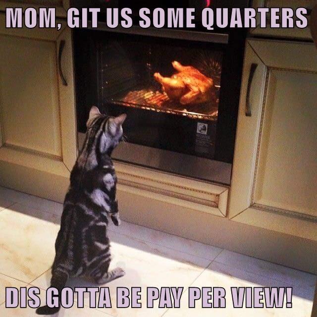 MOM, GIT US SOME QUARTERS  DIS GOTTA BE PAY PER VIEW!