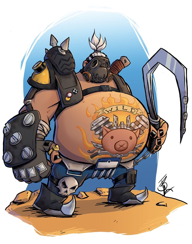 overwatch-fan-art-roadhog