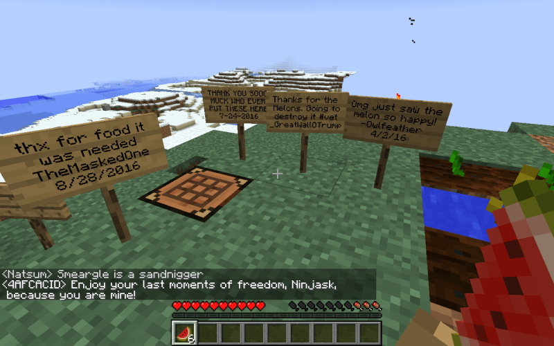 The Locals of Minecraft's Most Notoriously Crude Server Are