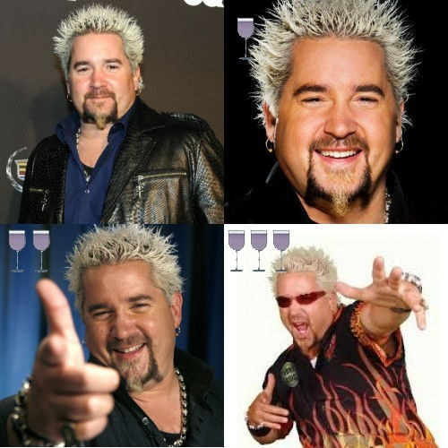 image guy fieri wine Amazing Photos Taken After One, Two and Three Glasses of Wine!