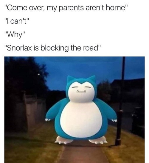 image snorlax pokemon go Well Don't Just Stand There, Get Your Pokeflute!