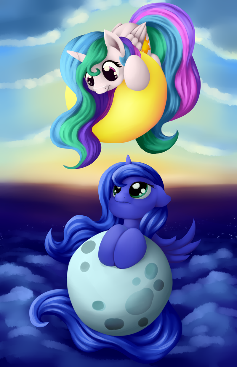 princess luna,princess celestia