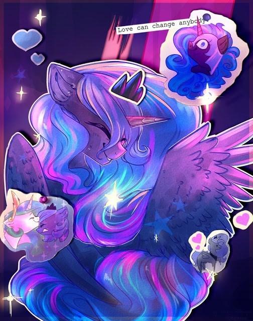 nightmare moon princess luna princess celestia - 8978806272