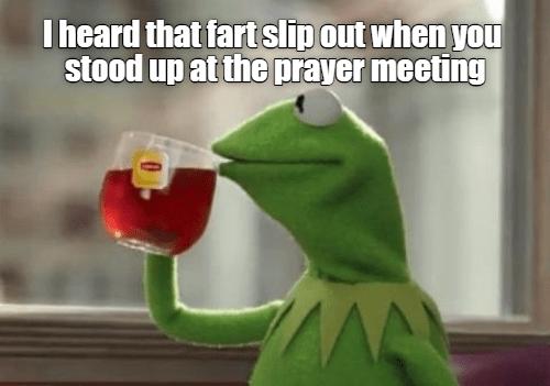 It happens.
