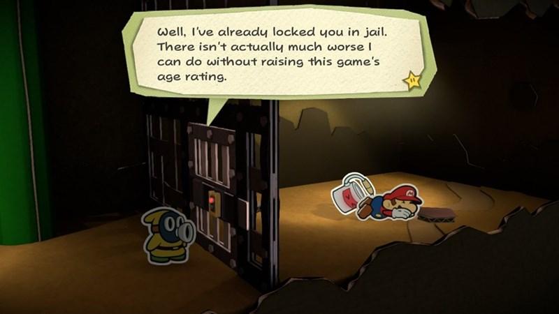 paper mario video games mario funny - 8978886656