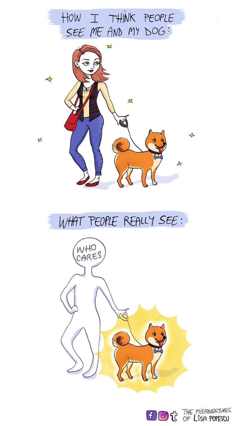 dogs web comics attention I Only See Doge