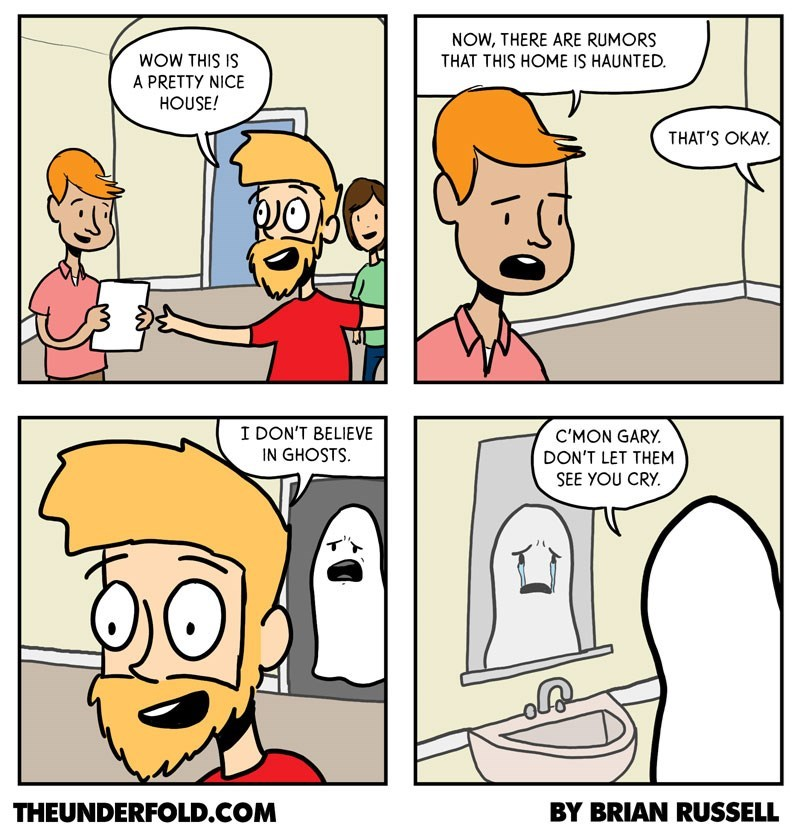 web comics ghosts support Ghosts Need Support Too