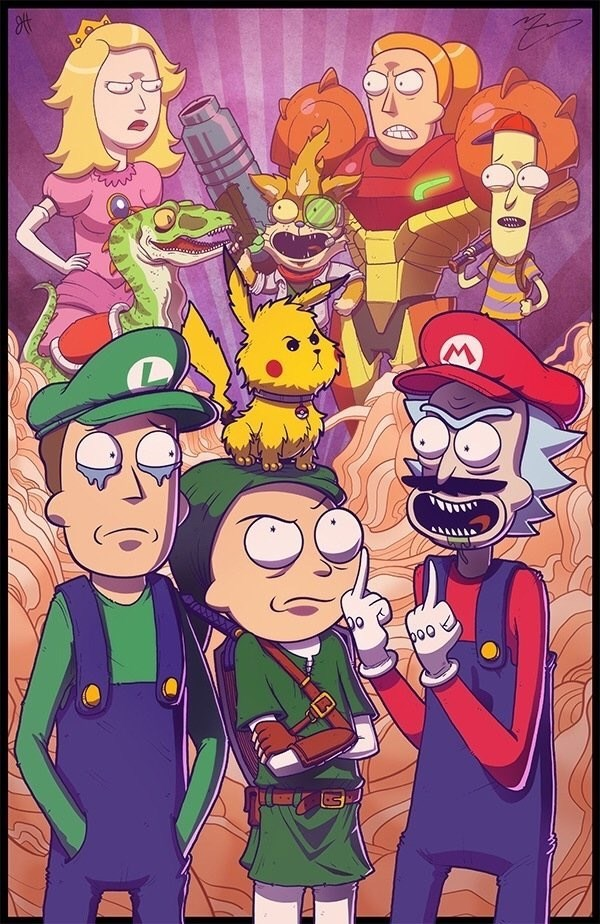 rick-and-morty-meet-super-mario-bros