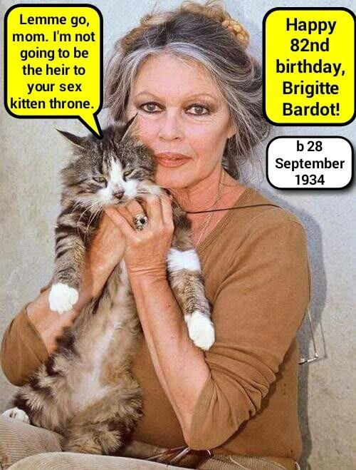 Happy 82nd, Ms Bardot