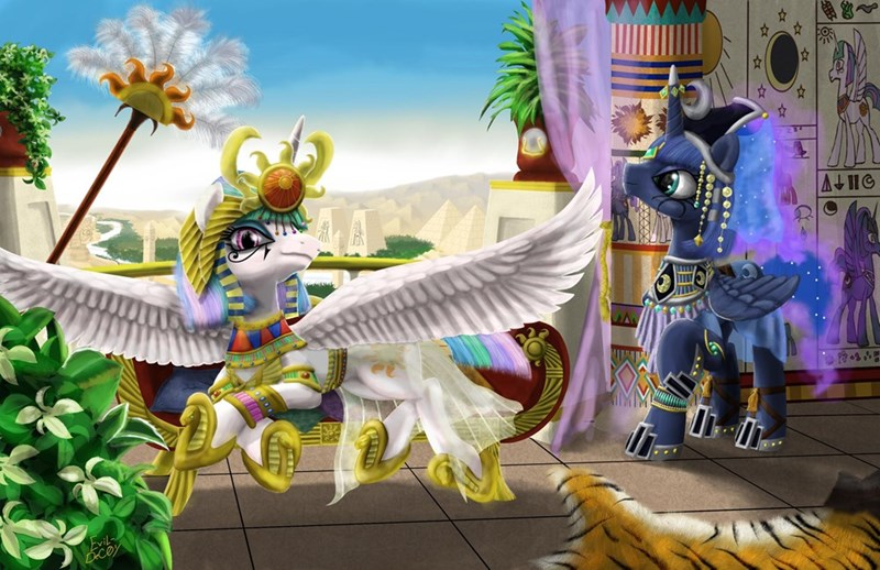 egypt princess celestia princess luna - 8979747072