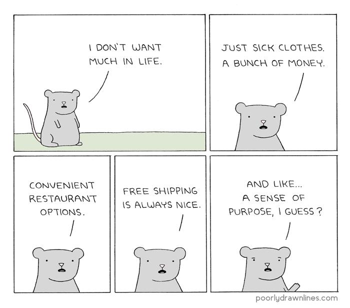 web comics life goals That Seems Like a Lot