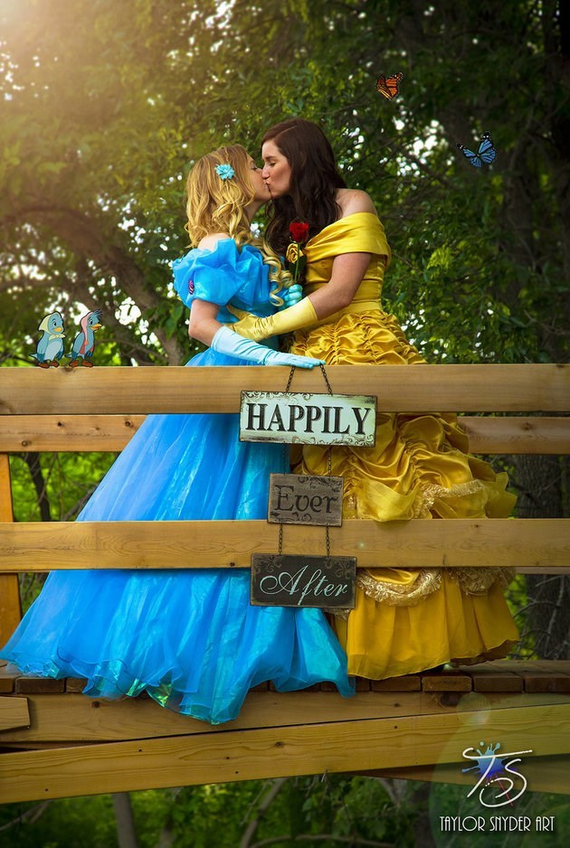 trending news marriage equality romantic disney engagement photos