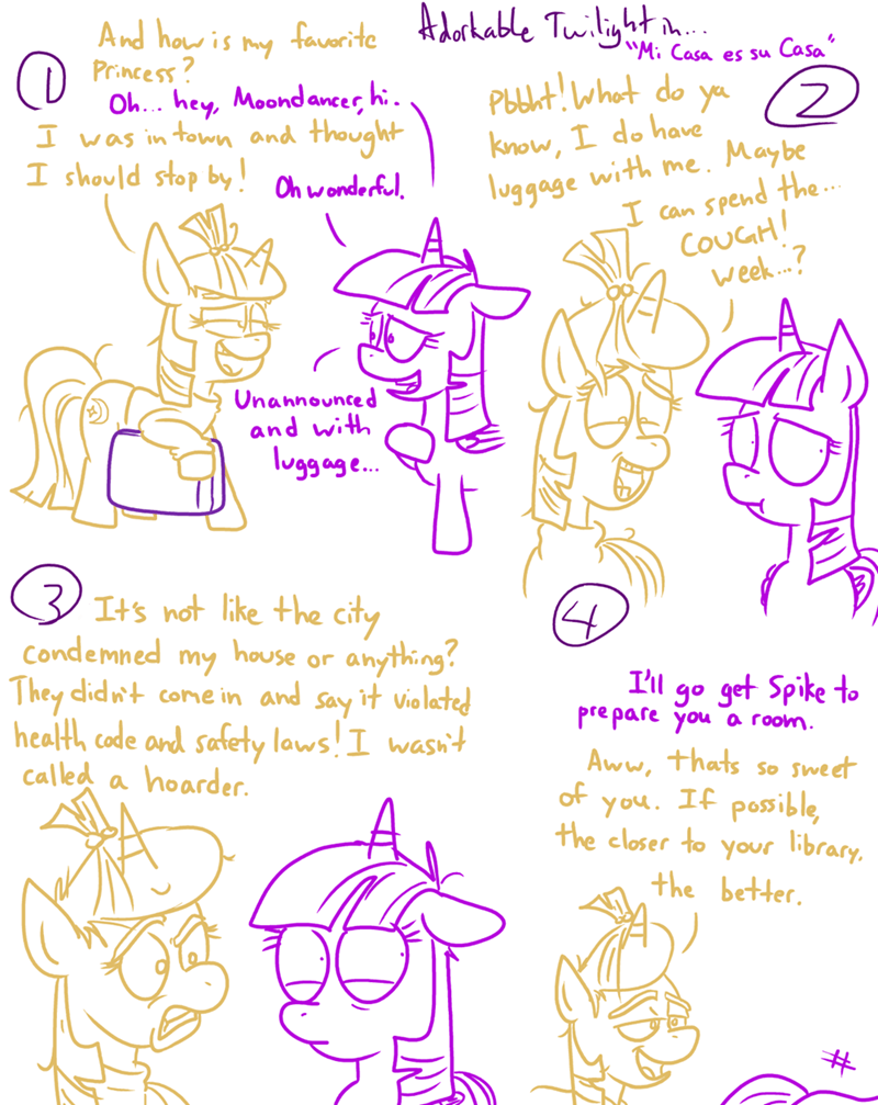 comic,twilight sparkle,moon dancer