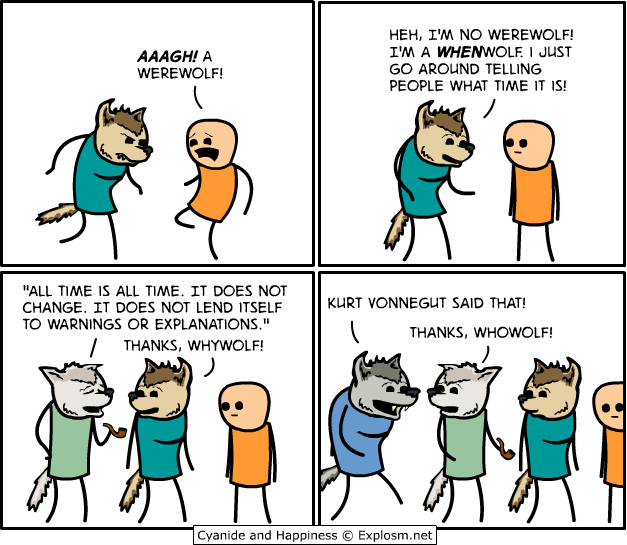 web comics werewolf when Um... Whatwolf?