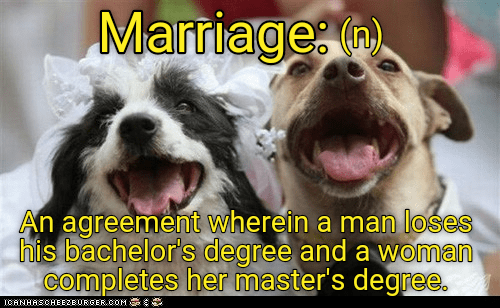 Daffynition: Marriage