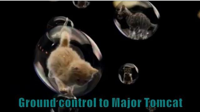 Ground control to Major Tomcat