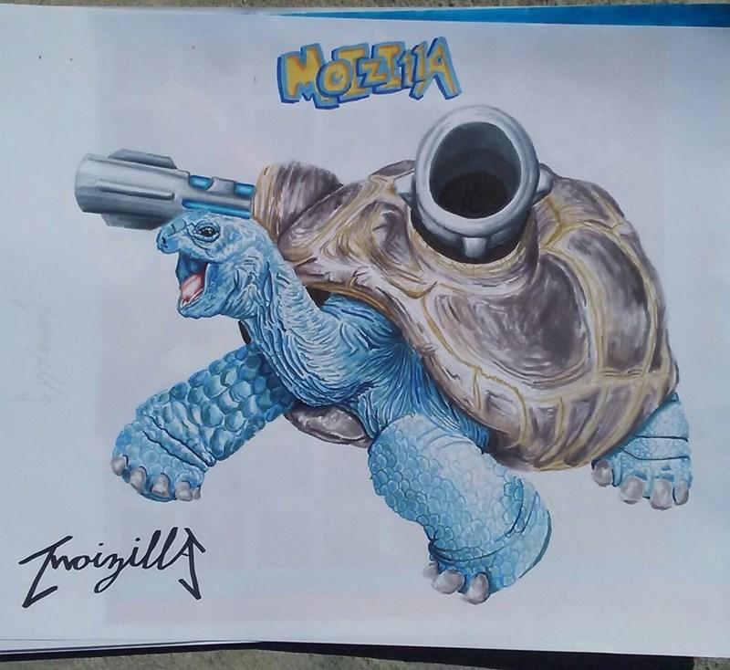 realistic-drawing-of-blastoise-pokemon